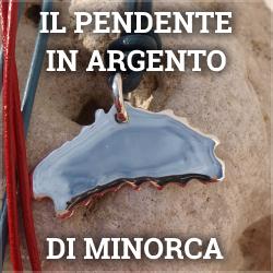 Il pendente in argento di Minorca
