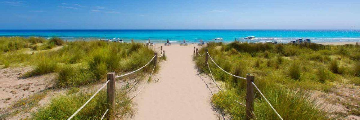 spiaggia di son bou minorca