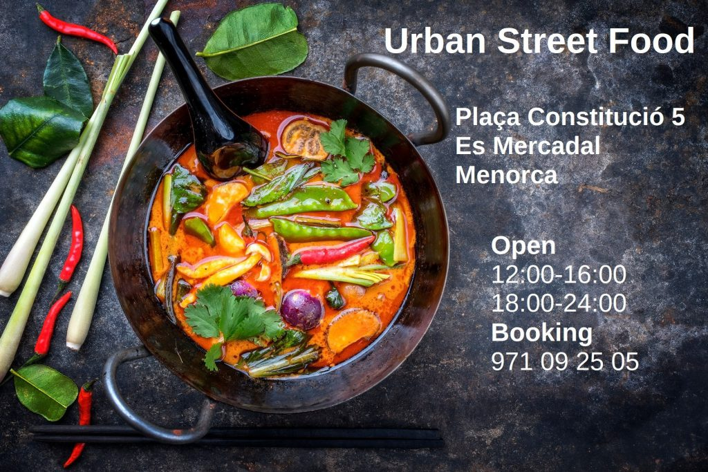 urban street food mercadal