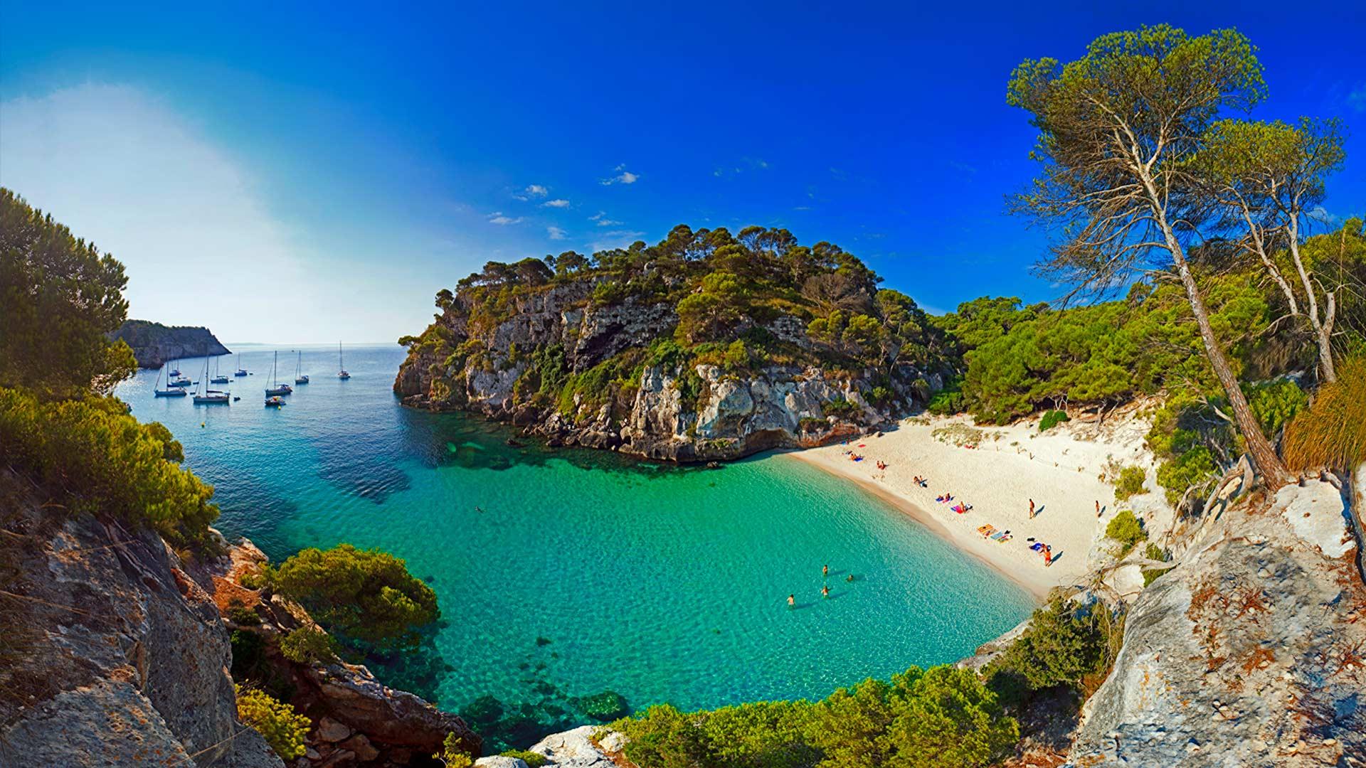Estate a minorca la mappa delle spiagge pi belle da - Immagini di spongebob e sabbia ...