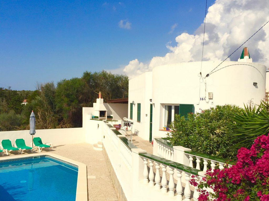 vacanze in villa minorca