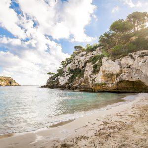 spiagge per bambini a minorca
