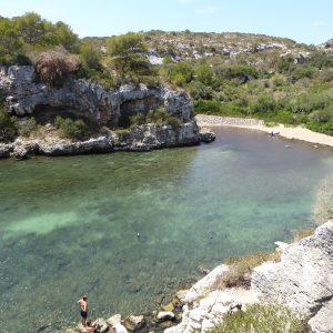 spiaggia di cales coves minorca