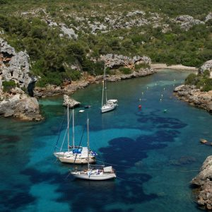 Bay,Of,Cales,Coves,-,Minorca
