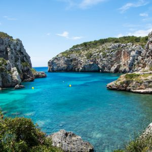 The,Beautiful,Cales,Coves,On,The,Island,Of,Menorca
