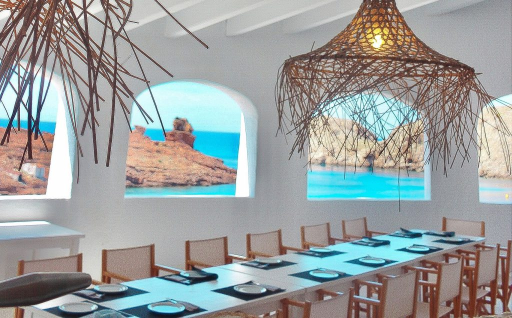 ristoranti minorca sul mare