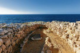 archeologia Minorca cala morell