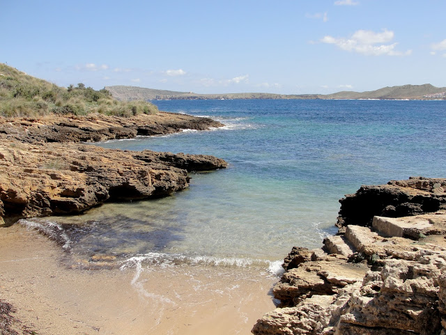 spiagge di minorca nord