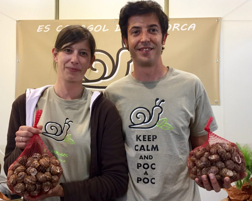 Lola e Rogrigo Es Caragol de Menorca gloriavanni