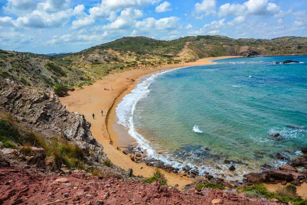beaches menorca