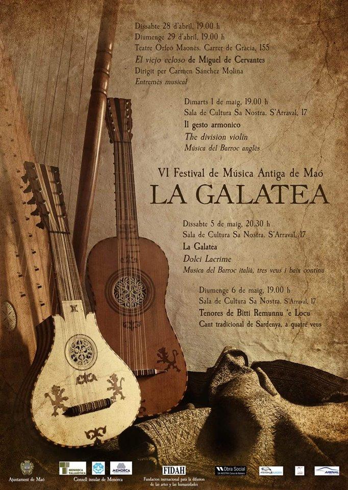 Dal 28 aprile al 4 di maggio Festival di Musica Antica a Minorca