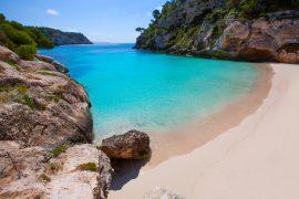menorca playas limpias