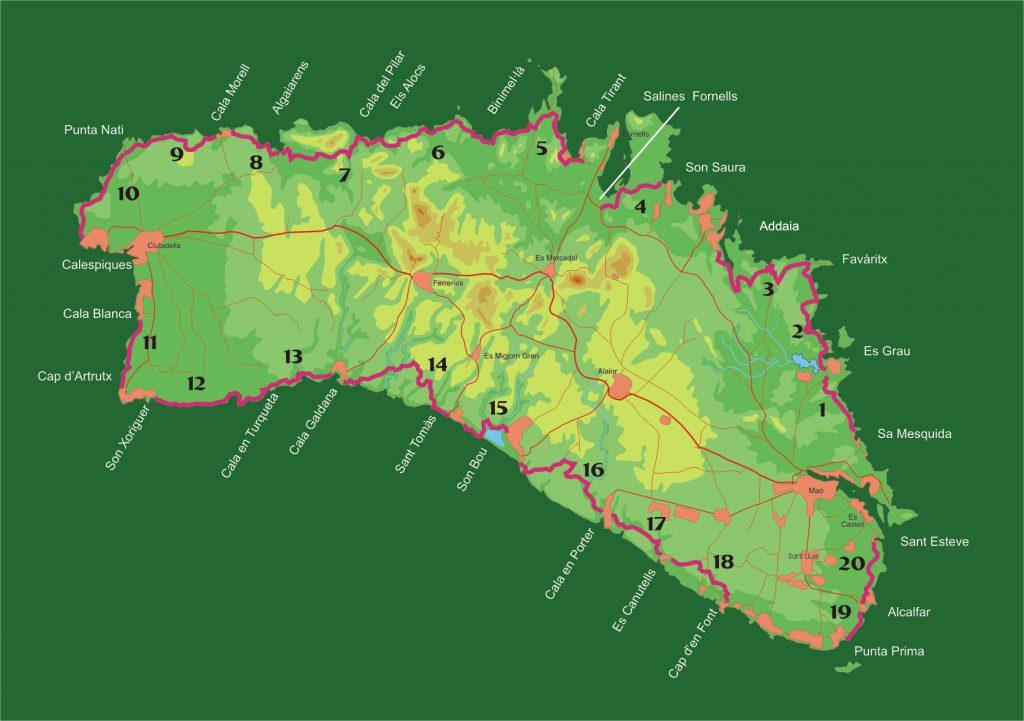 El Camí de Cavalls de Menorca: historia, etapas y excursiones