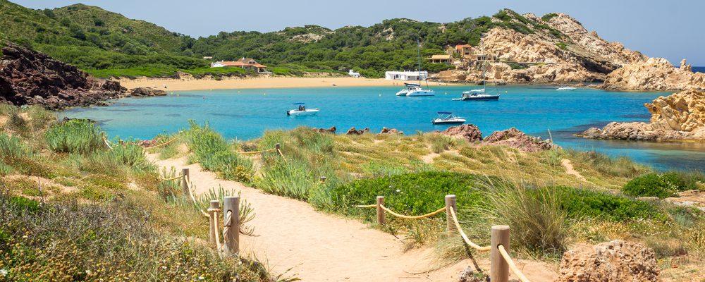playas y calas de Menorca