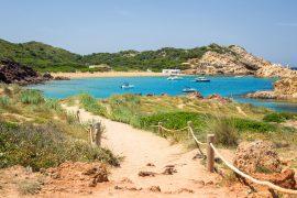 Las 10 mejores playas y calas de Menorca