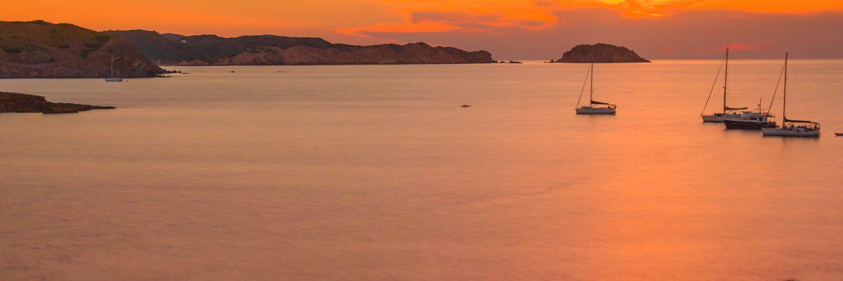 Desde dónde se pueden ver las mejores puestas de sol en Menorca