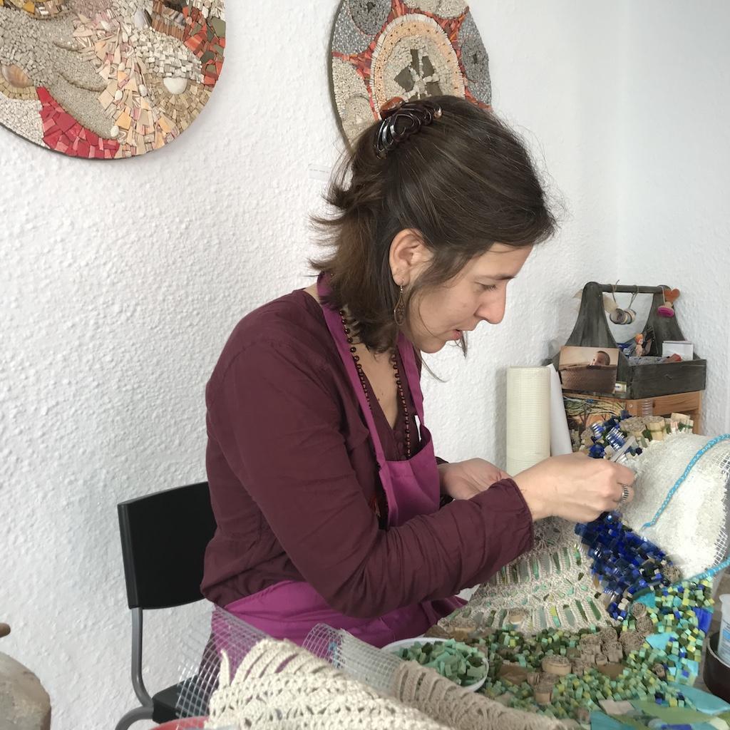 Antonella Zorzi mosaici minorca