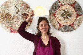Antonella Zorzi: mosaici con cuore italiano e energia di Minorca