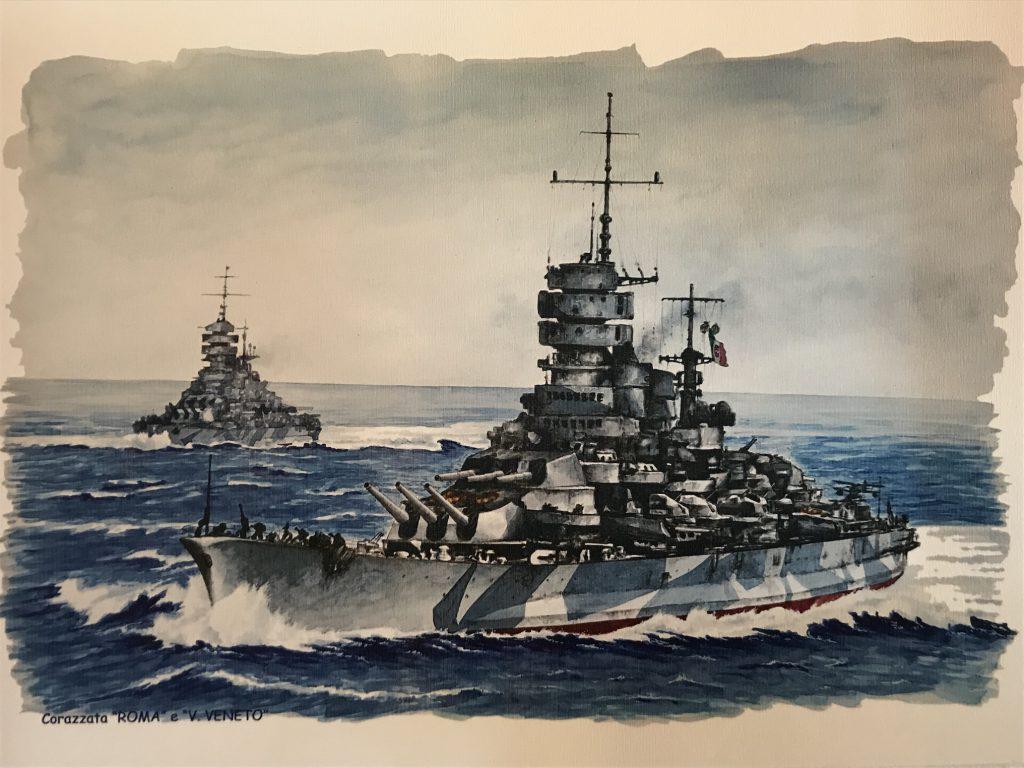 corazzata roma isla del rey minorca
