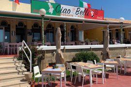 Restaurante Ciao Belli - Playa de Son Xoriguer menorca