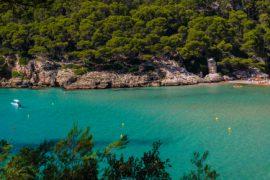 playas inaccesibles de Menorca