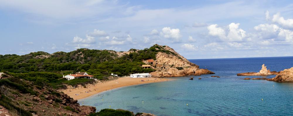 calas de Menorca escondidas CALA PREGONDA