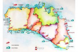 Mapas de Menorca