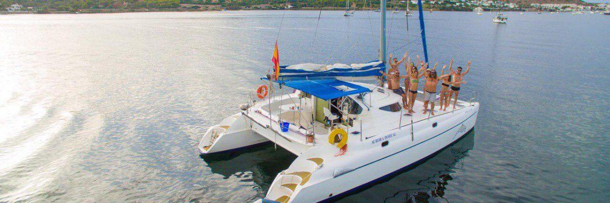 Escursioni in Catamarano a Minorca con Kiko