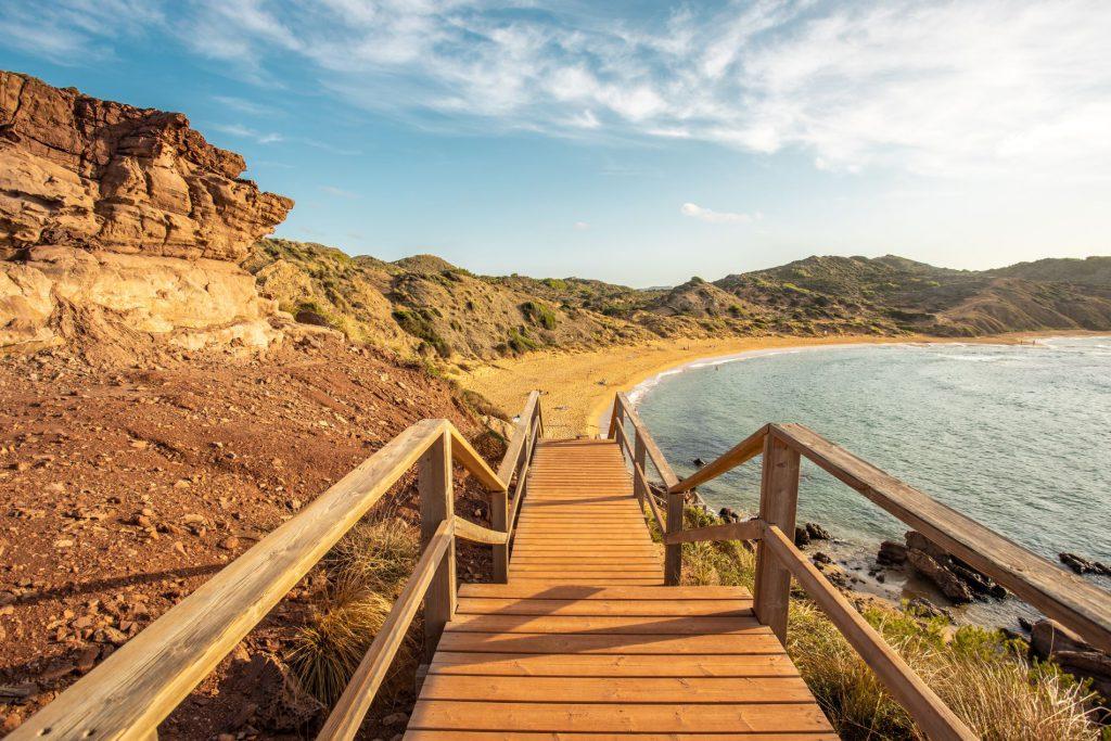 playa cavalleria - menorca en 7 días