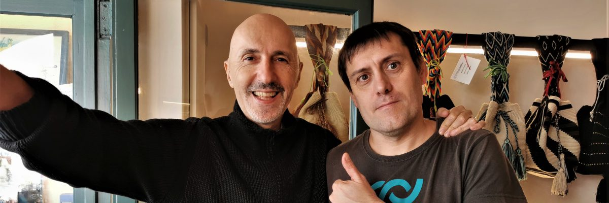 Cédric y Alessandro
