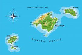 mappa baleari
