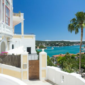 Mahon,,Menorca,,View,To,The,Natural,Harbour,Part,Of,The