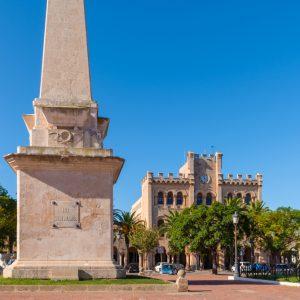plaza es born ciutadella