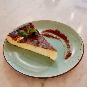 6. torta di formaggio con marmellata di stagione