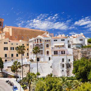 Beautiful,View,Of,Mahon,Town,,Menorca,Island,,Spain