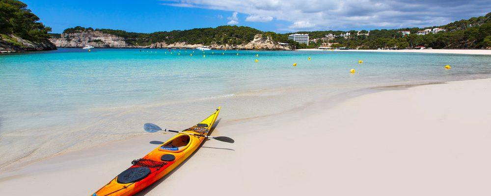 menorca excursiones kayak