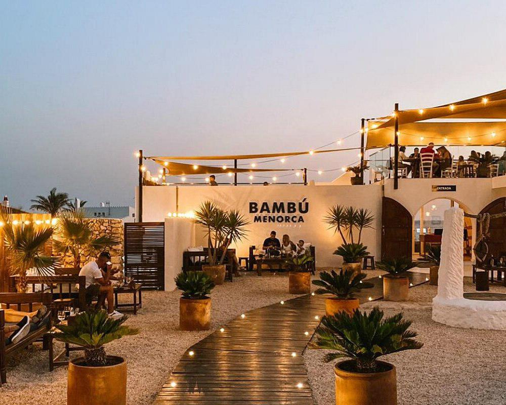 restaurantes en menorca con vistas