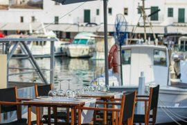 restaurantes con vistas menorca