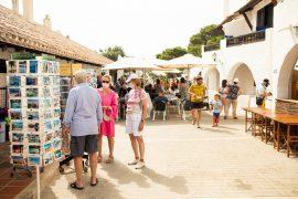 turisti stressati a minorca