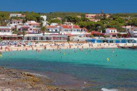 punta prima playa menorca
